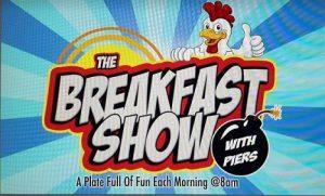 Live Breakfast –  Piers
